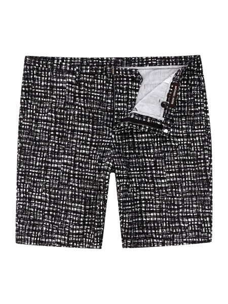 Michael Kors All Over Checked Cotton Shorts