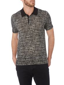 Michael Kors Check Polo Regular Fit Polo Shirt