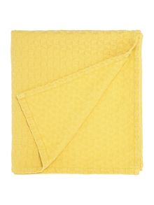 Linea Geometric yellow bedspread