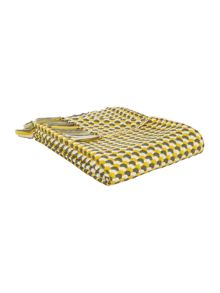 Juxtopose woven throw