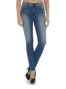True Religion Halle high rise skinny jean in earth mystery
