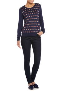 Dickins & Jones Foxy intarsia jumper
