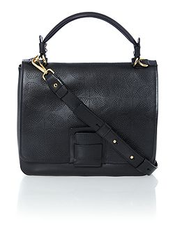 Ivy black crossbody bag
