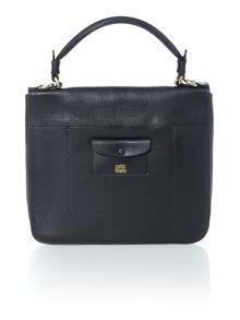 Orla Kiely Ivy black crossbody bag