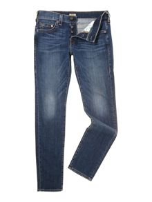 Rocco Slim Mid Rise Jeans