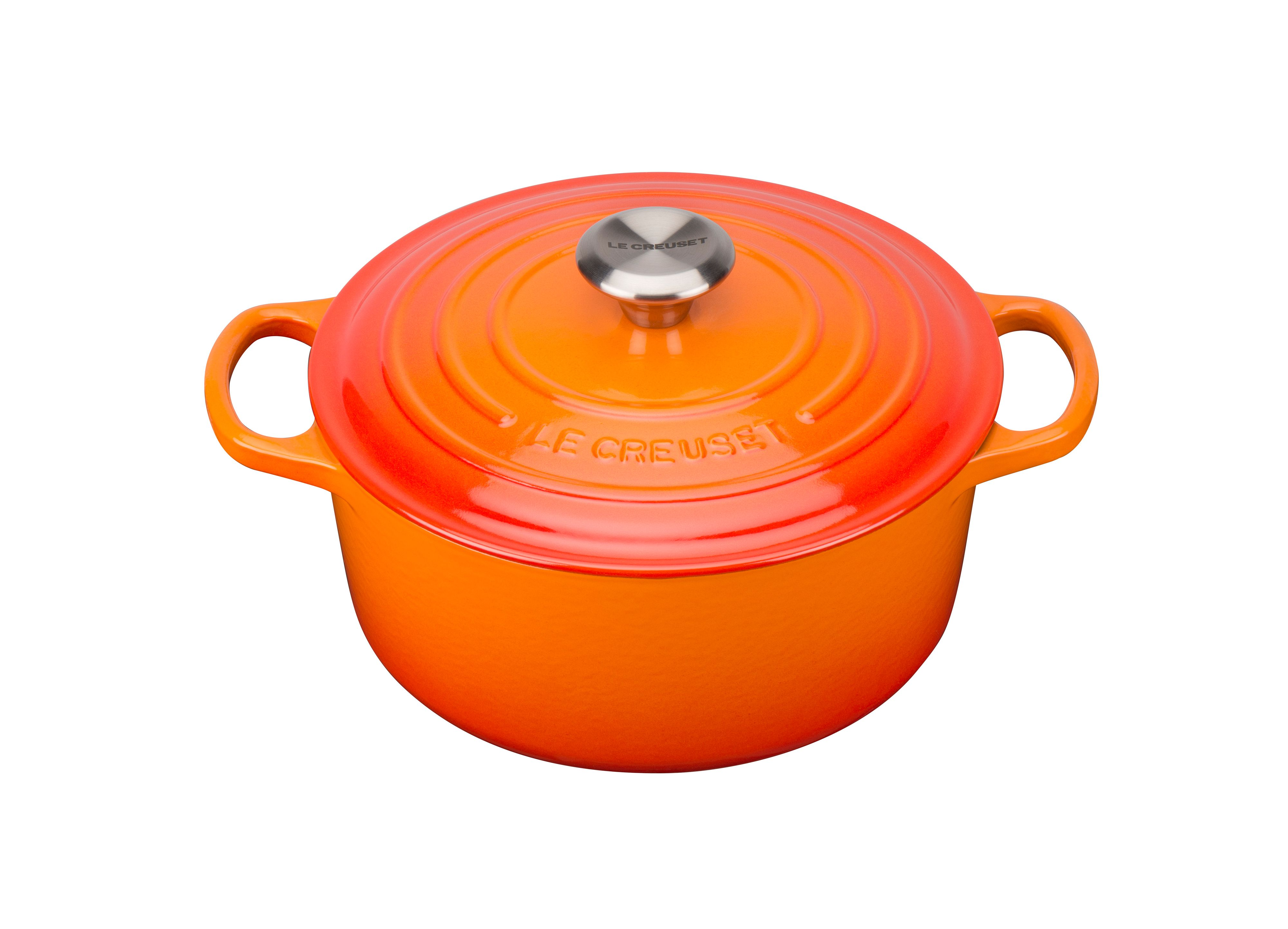Click to view product details and reviews for Le Creuset Signature Cast Iron Round Casserole 24 Volcanic.