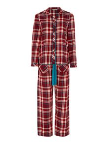 Cyberjammies Red Check PJ Set