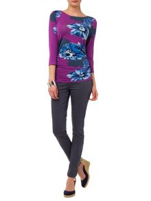 Phase Eight Fraya floral fitted top