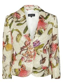 Escada Besima Floral print jacket