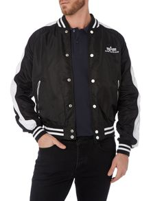 Alpha Casual Waterproof Bomber Jacket Full Zip