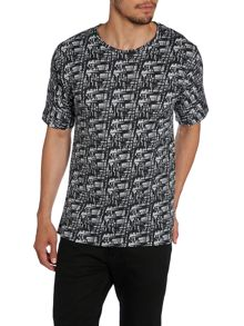 Tranko Printed Short Sleeve T-Shirt