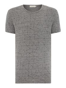 Tray Printed Short Sleeve T-Shirt