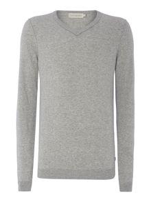 Saba V Neck Long Sleeve Sweater