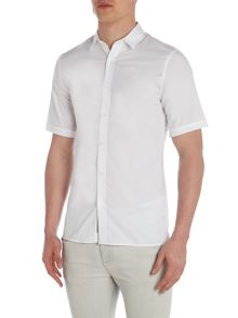 Calvin Klein Wings Short Sleeve Poplin Shirt