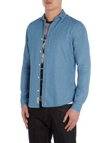 Wekesa Long Sleeve Denim Shirt