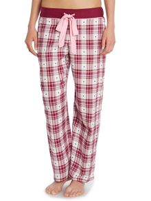 Cyberjammies Heart Dobby Pant & T Shirt PJ Set