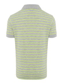 Boys fine stripe polo
