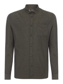 Label Lab Diaz Herringbone Slim Fit Shirt
