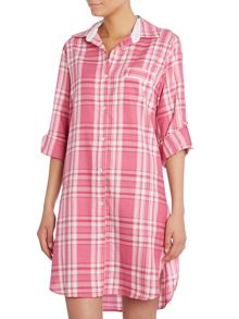 Cyberjammies Check Nightshirt