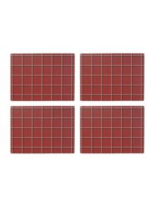 Chesnut cork placemats Set Of 4