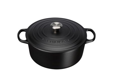Le Creuset Signature Cast Iron Round Cass 28cm Satin Black