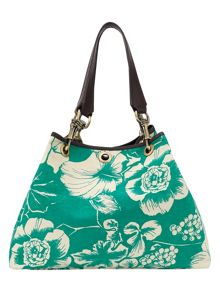 Lily canvas print tote bag