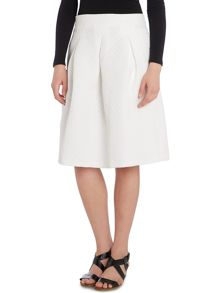 Y.A.S. A line skirt with front pleat