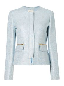 Linea Metallic flecked jacket