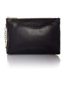 Jetset black chain cross body bag