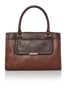 Becky triple compartment handbag