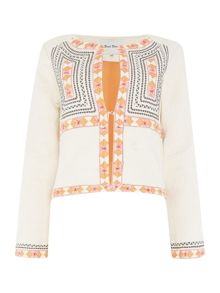 On Trend folk style jacket.