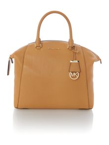 Riley tan large slouch tote bag