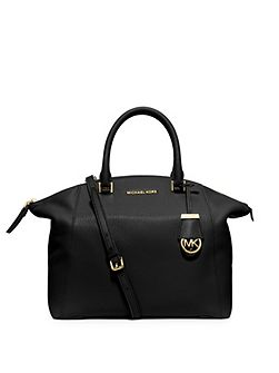 Michael Kors Riley black large slouch tote bag