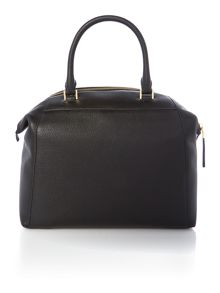 Riley black large slouch tote bag