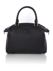 Riley black small slouch tote bag