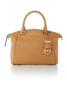 Riley tan small slouch tote bag