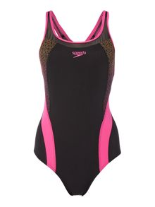Speedo Pinnacle Kickback Swimsuit