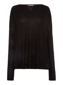 Woven insert and back jumper
