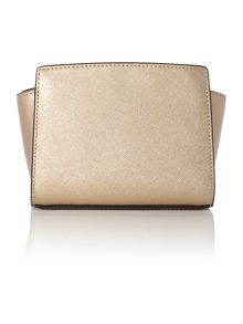 Selma gold mini cross body