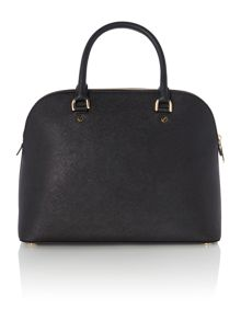 Cindy black grab dome bag
