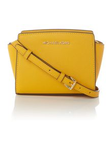 Selma yellow mini cross body