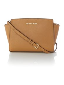 Selma tan small cross body bag