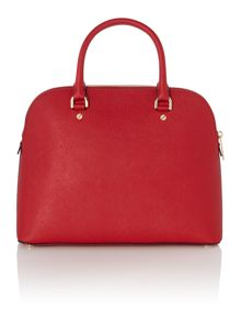 Cindy red grab dome bag