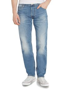 Chase Relaxed Tapered Jean In Light Wash
