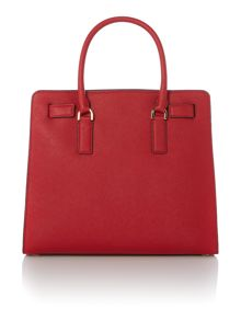 Dillon red tote bag