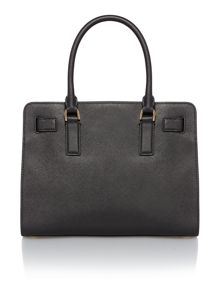 Dillon black tote bag