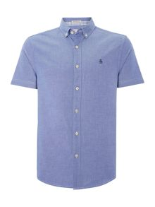 Classic Fit Short Sleeve Oxford Shirt