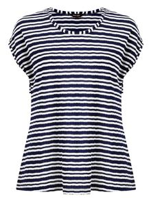 Adelaide stripe top