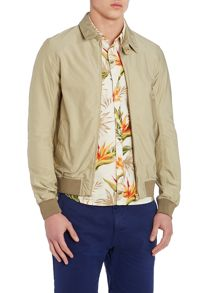 Scotch & Soda Waxed Cotton Summer Full Zip Harrington Jacket