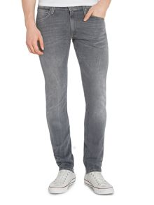Luke Slim Taper Jean In Grey Wash